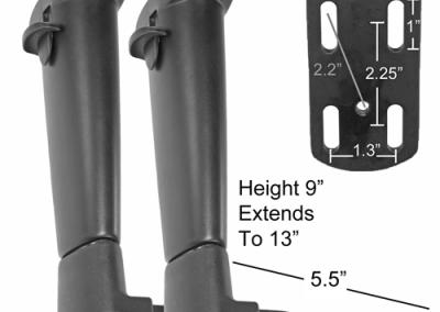 Adjustable Arm Handle set