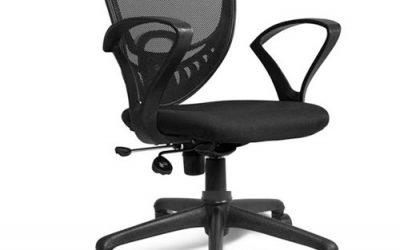 Low Back Mesh Net Chair-Pan Back